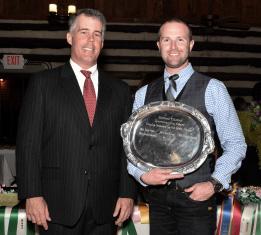 2014 Harmon Classics Sportsmanship Award Winner - Jordan Burton.