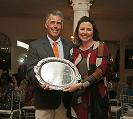 2017 Harmon Classics Sportsmanship Award Winner - Kristina Harmon.