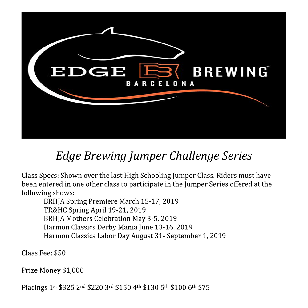 Edge Brewing Jumper Series Specs.